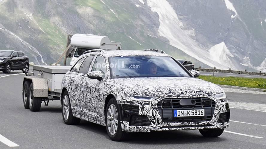 2020 Audi A6 Allroad ilk kez kamuflajlı olarak görüntülendi