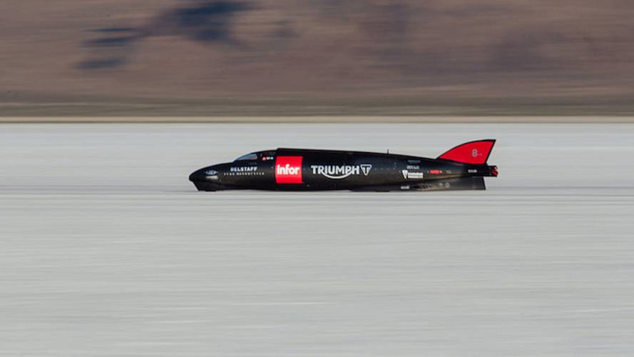 Triumph Breaks Personal Record at Bonneville