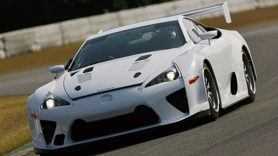 Lexus exec hints at a pure F GT car