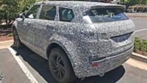 New Range Rover Evoque Interior Spy Photos