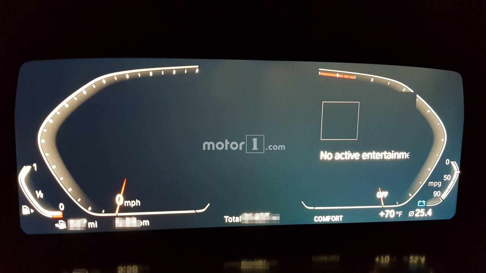 Next Z4 Spied Inside Showing Bmws New Digital Instrument Cluster