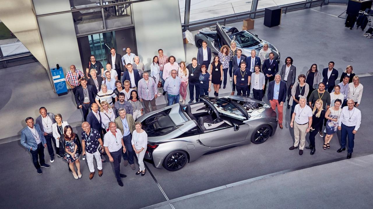 BMW i8 Roadster First Edition Teslim Organizasyonu