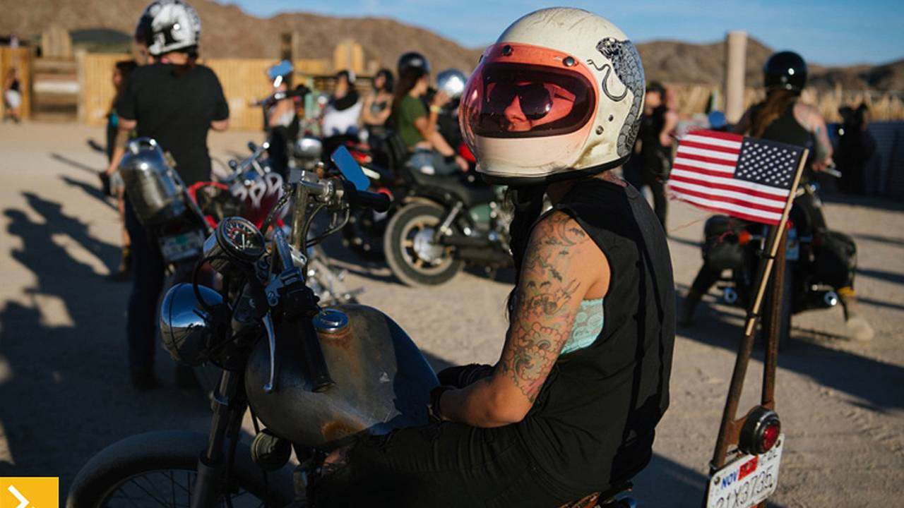 No Dudes and No 'Tudes - Babes Ride Out 2016
