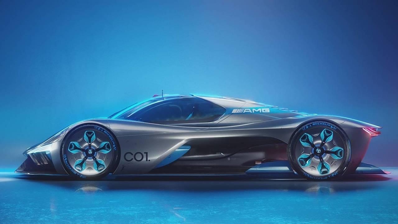 Mercedes C01 Supercar Concept
