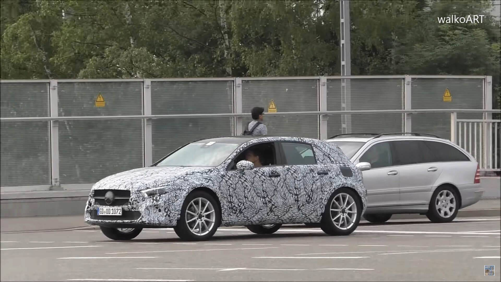 New Mercedes GLA Still Looks Like A Jacked Up A Class In Spy Video