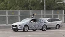 2020 Mercedes GLA screenshot from spy video