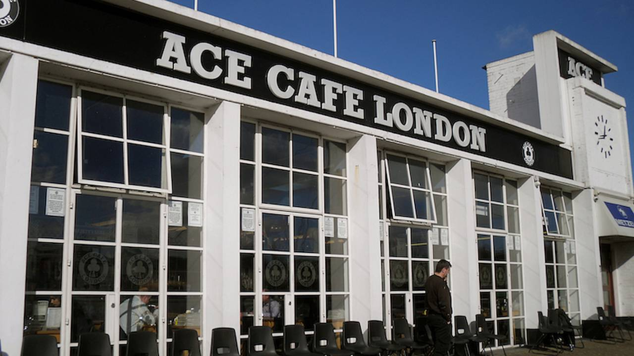 We Visit London's Iconic Ace Cafe