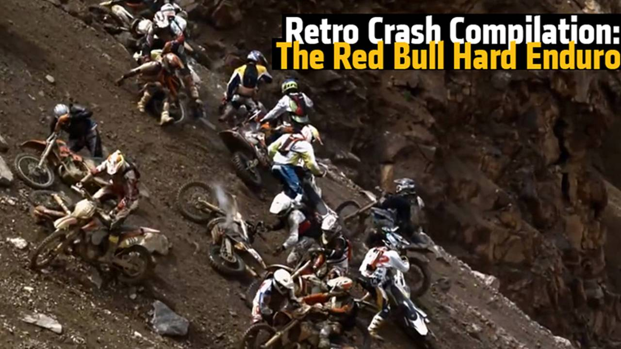 Retro Crash Compilation: a Peak of What the Red Bull Hard Enduro 2015 Has in Store