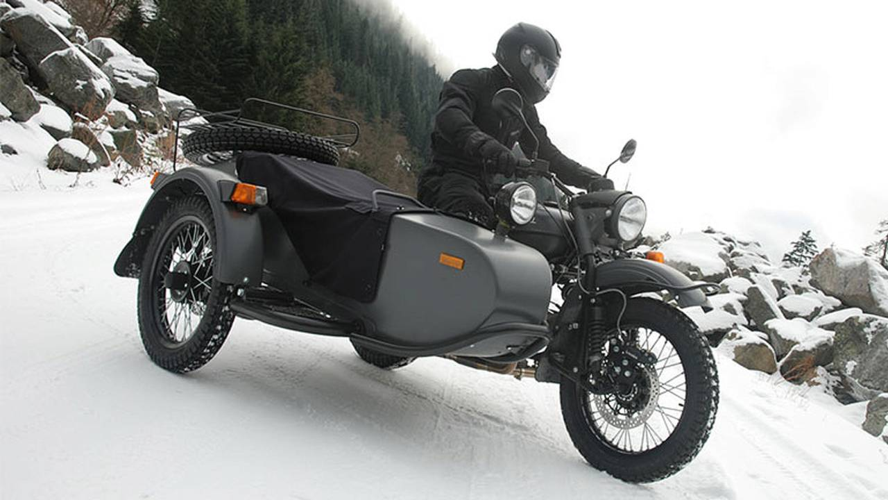 2014 Ural Gear-Up Sidecar (3/4 side)