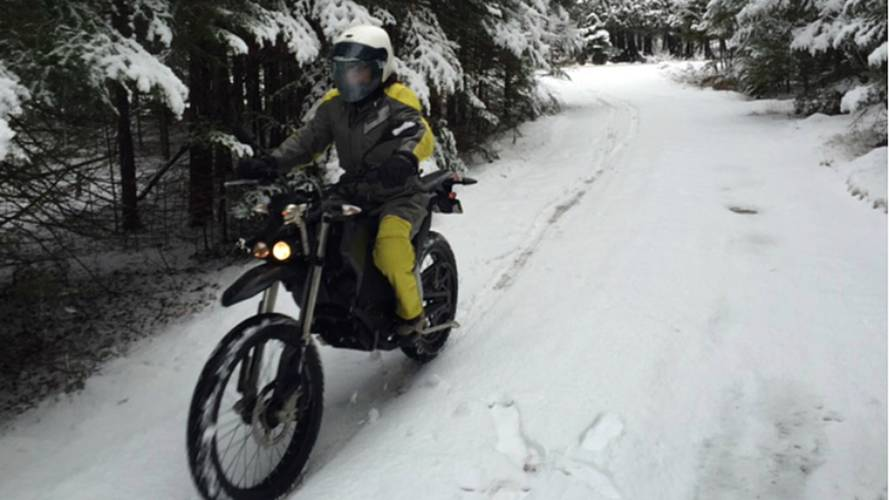 Zero Below Zero — A Fair Weather Rider No More!