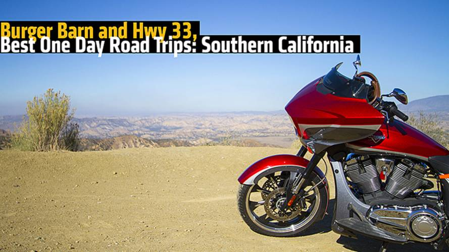 Burger Barn and Hwy 33, Best One Day Road Trips: Southern California