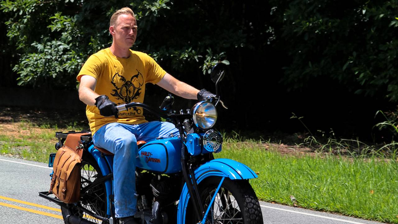How to Ride an Antique Harley-Davidson