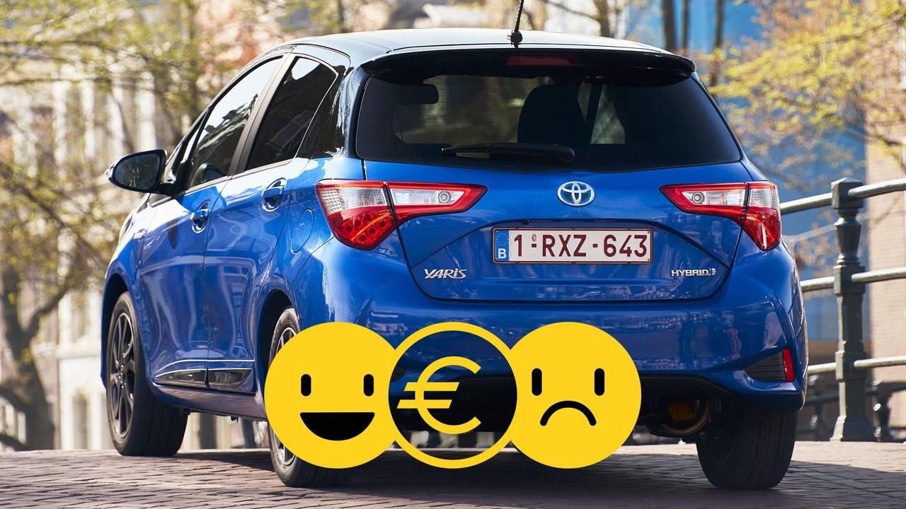 Toyota Yaris Hybrid, la promozione
