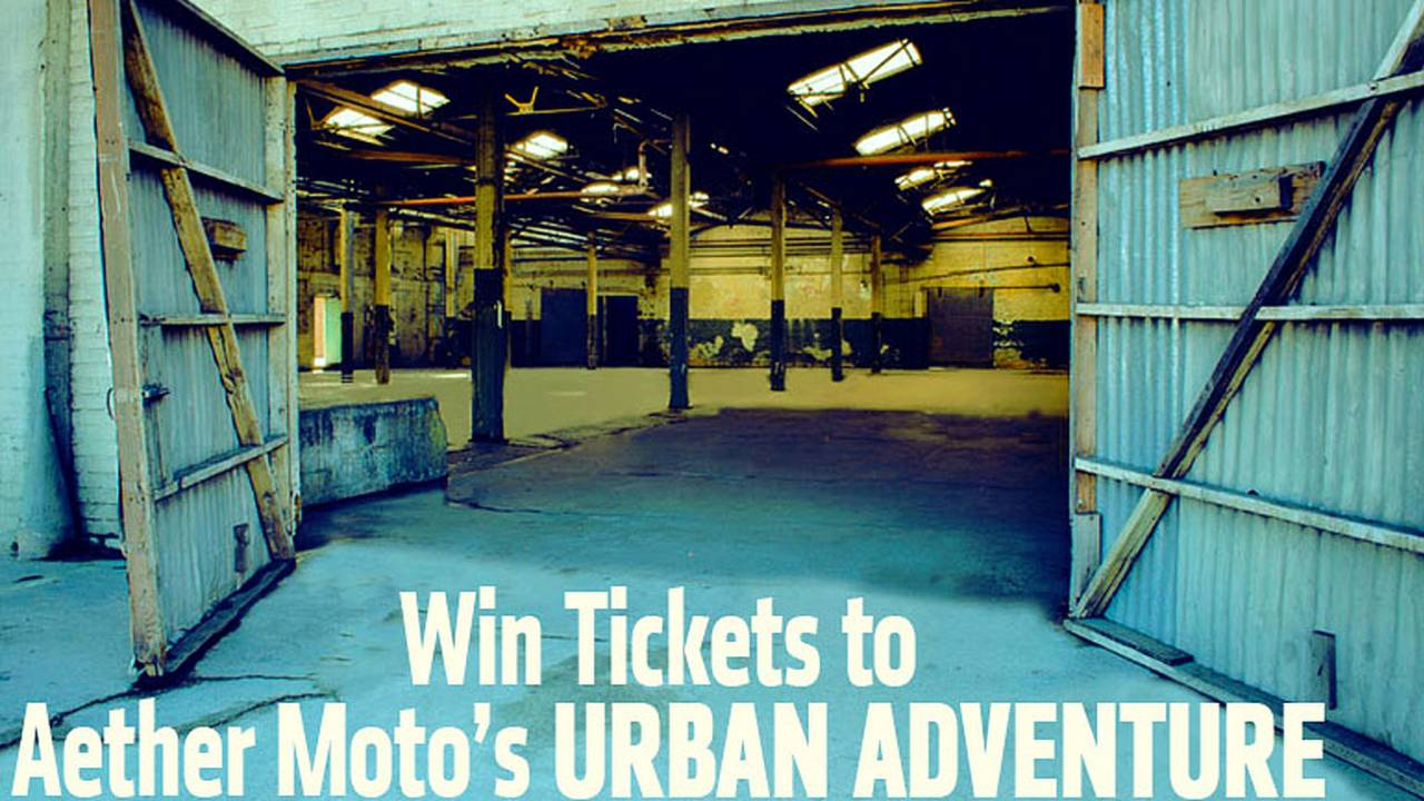 Win Two Tickets to Aether Moto's Urban Adventure