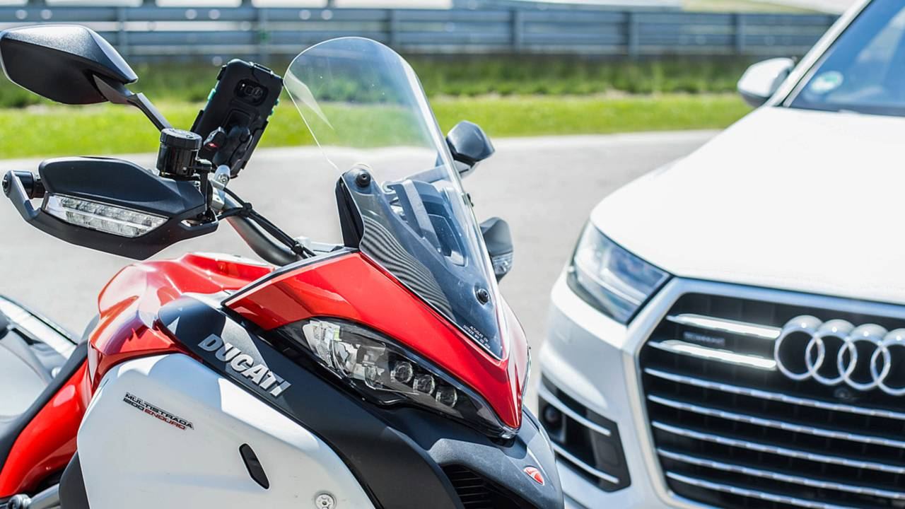 Ducati Wants Bikes and Cars to Talk