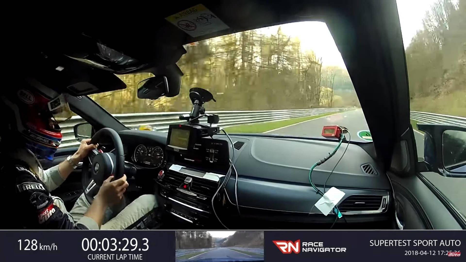 Watch The 2019 BMW M5 Lap The Nurburgring In 7:38 92