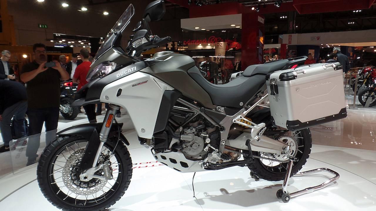 Ducati Promises True Off-Roader In Multistrada 1200 Enduro – EICMA 2015