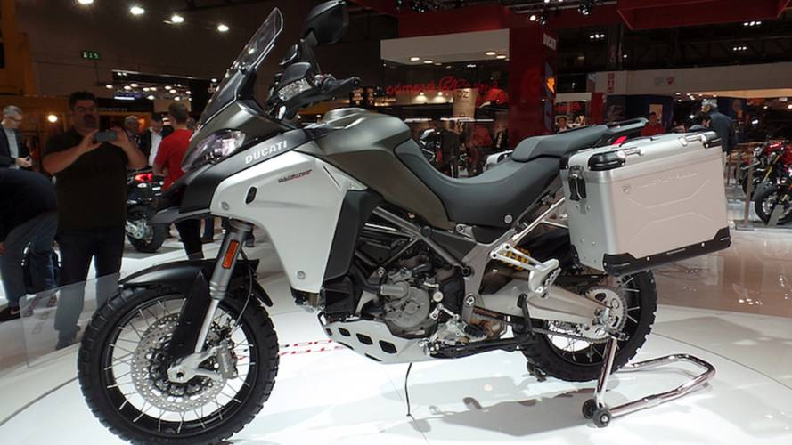 Ducati Promises True Off-Roader In Multistrada 1200 Enduro – EICMA 2015