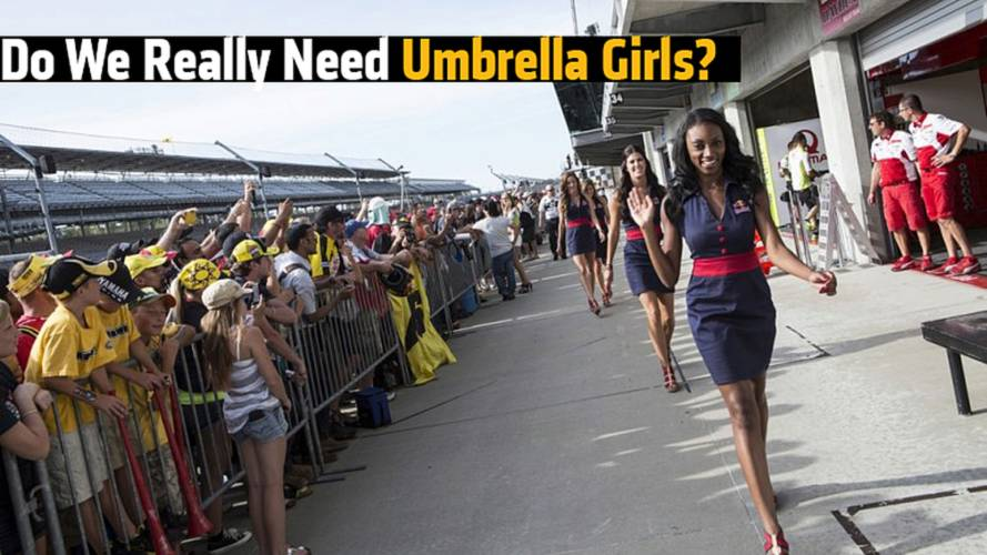 Do We Really Need Umbrella Girls?