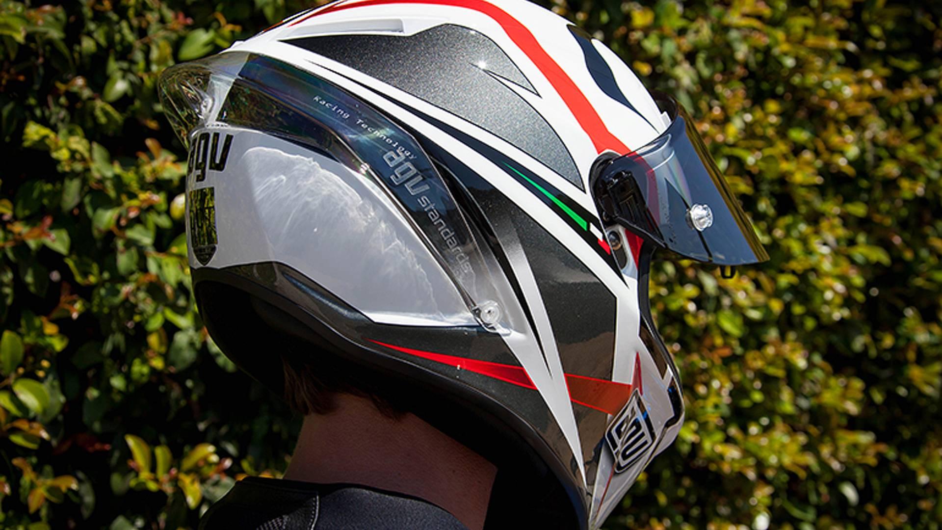 AGV Veloce S Multi Soleluna Motorcycle Helmet For Sale