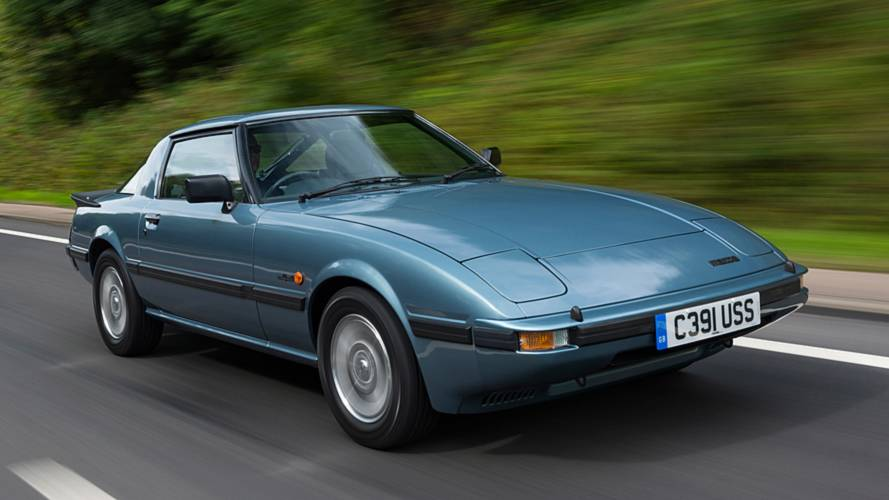 Mazda UK celebrates RX-7 sports car's 40th anniversary