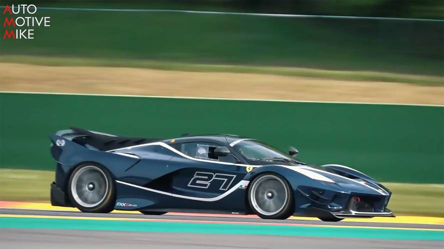 Pump Up The Volume: Ferrari FXX K Evo Screams At Spa