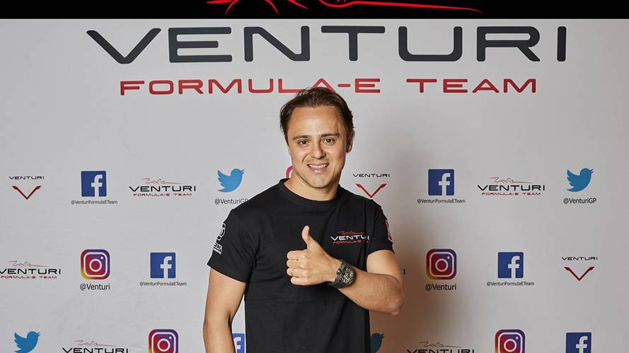 Felipe Massa Signs Three-Year Venturi Formula E Deal