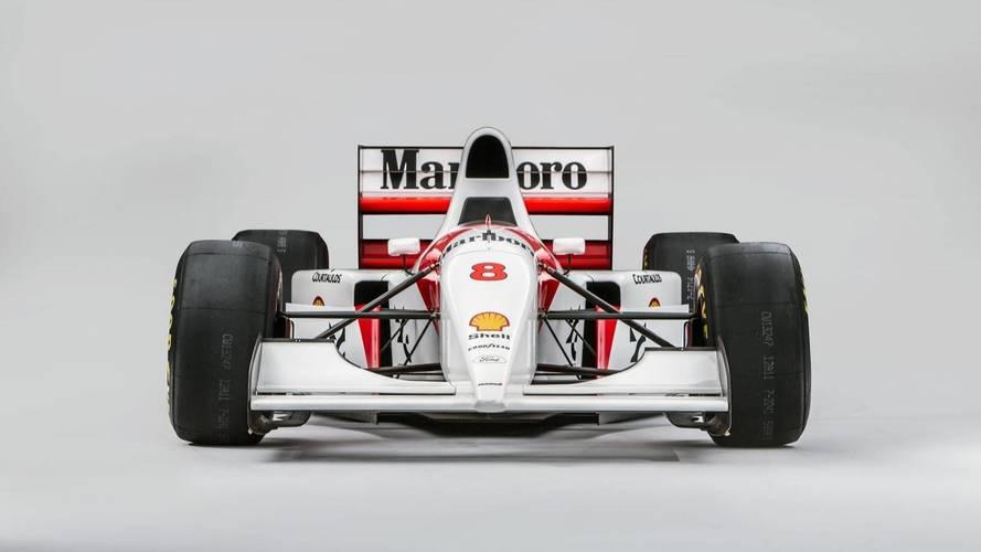 Ecclestone rachète la McLaren F1 1993 de Senna pour 4,2 millions d'euros