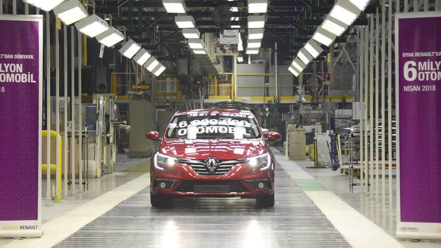 Oyak Renault'tan üretimi durdurma kararı