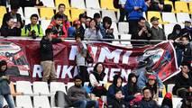 Banderas y aficionados de Kimi Raikkonen, Ferrari