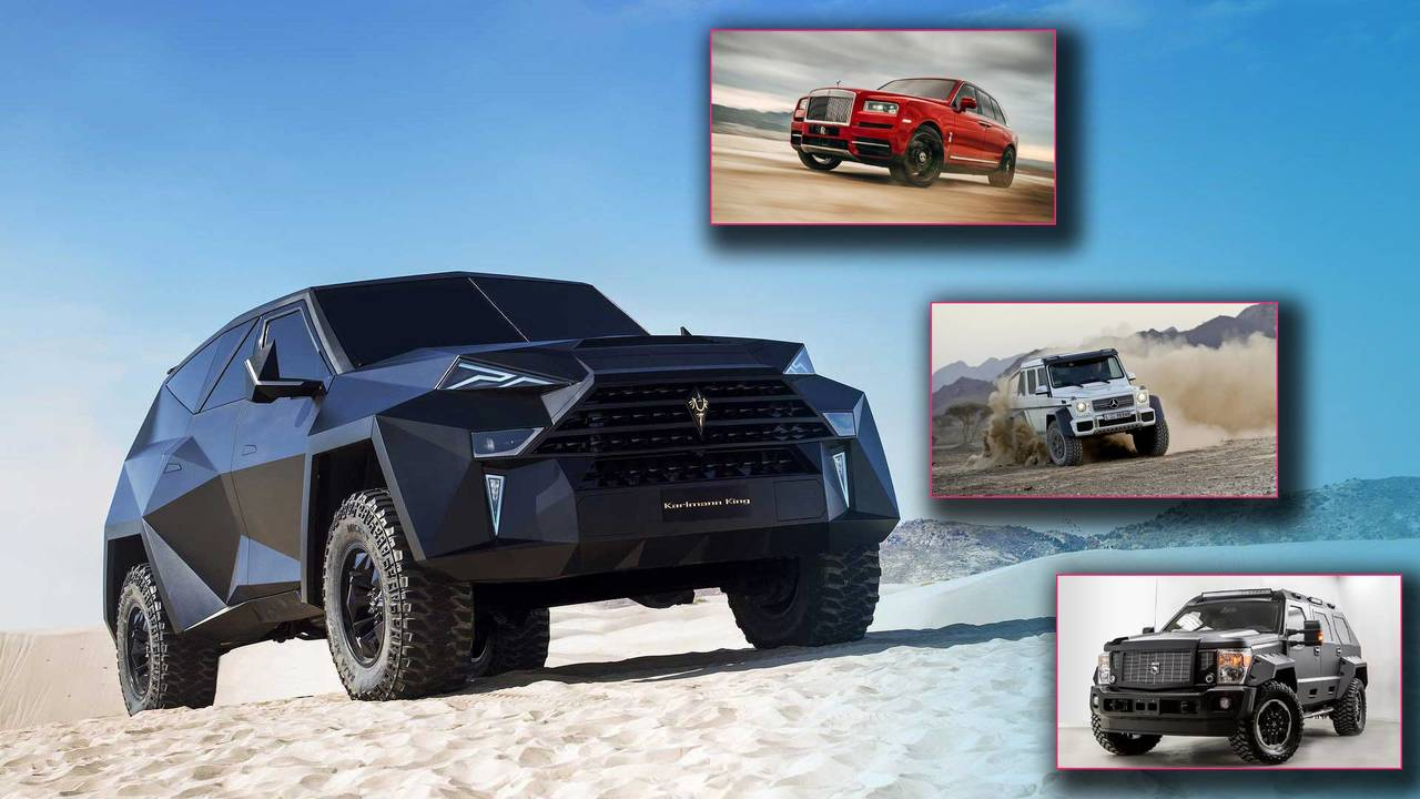13 Most Expensive SUVs Of All Time Lead