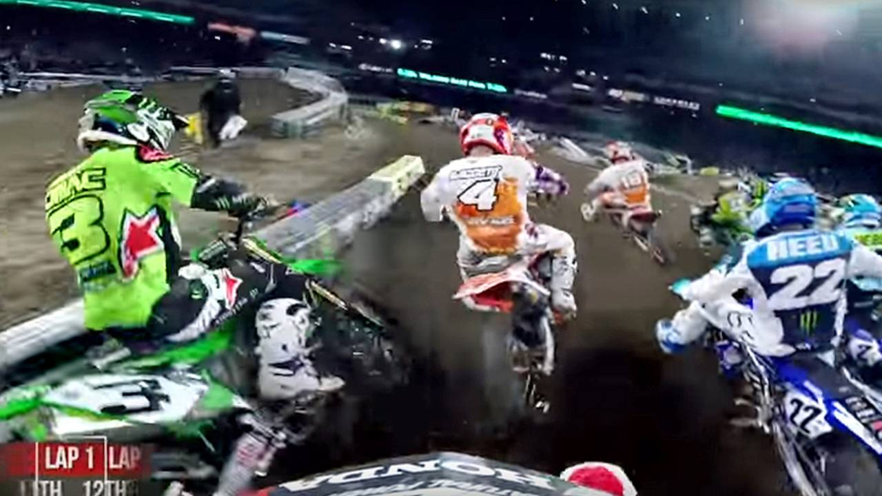 Video of the Day: Cole Seely GoPro from Anaheim