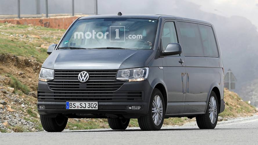 Vw Transporter T7 Spied Here S Your First Look
