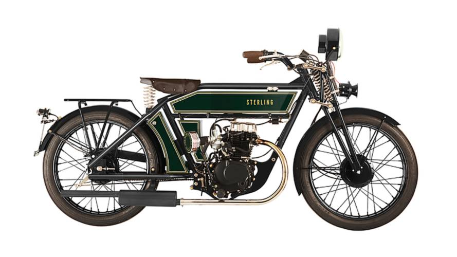 Back to the Future - Sterling Modern Retro Classic Motorcycles