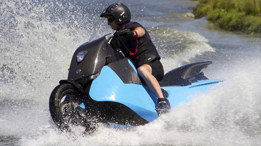 Meet the Biski: The Scooter-Jetski Hybrid