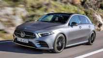 test mercedes a klasse 2018