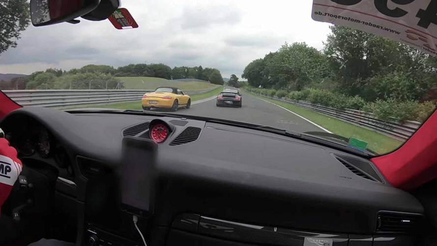 Watch Modified Porsche 911 GT2 RS Lap The Nürburgring