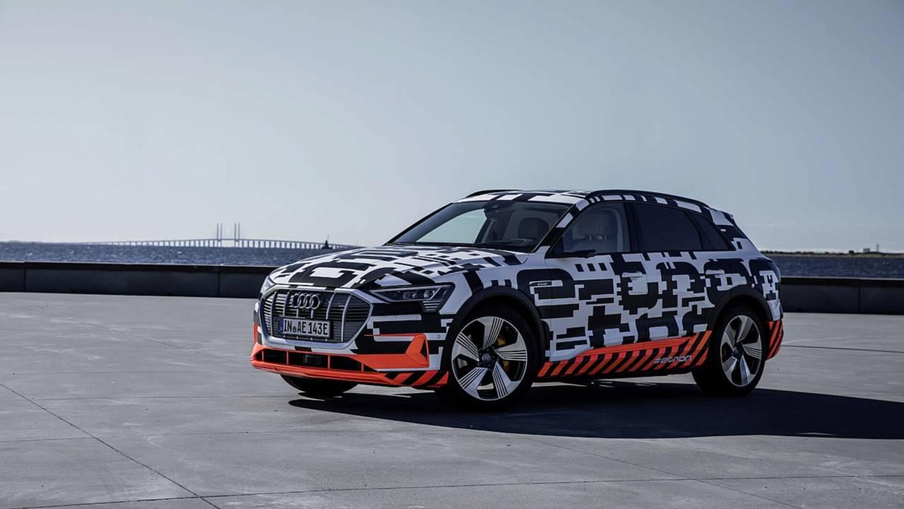 Audi E-Tron Resmi Duyuru Görüntüleri