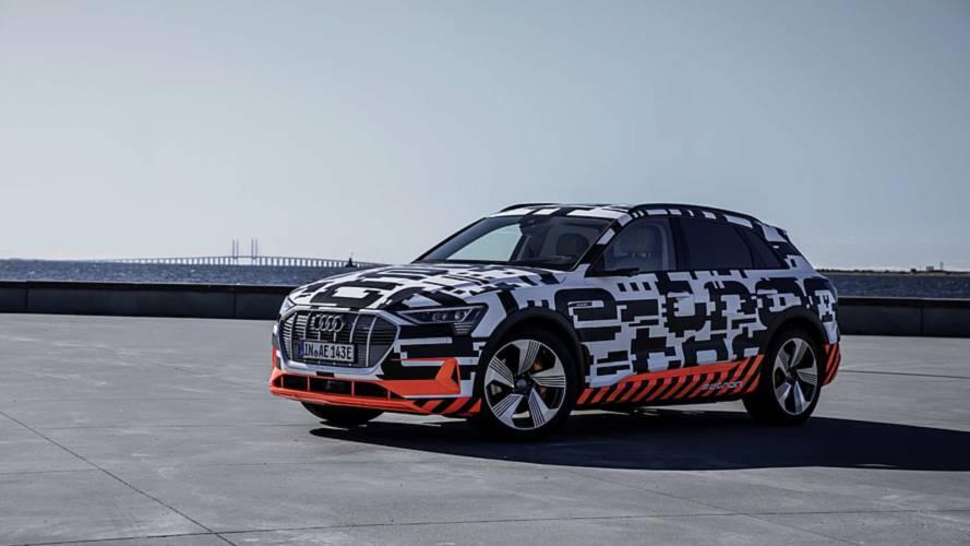 Audi e-tron'un iç mekanı resmi görsellerle tanıtıldı