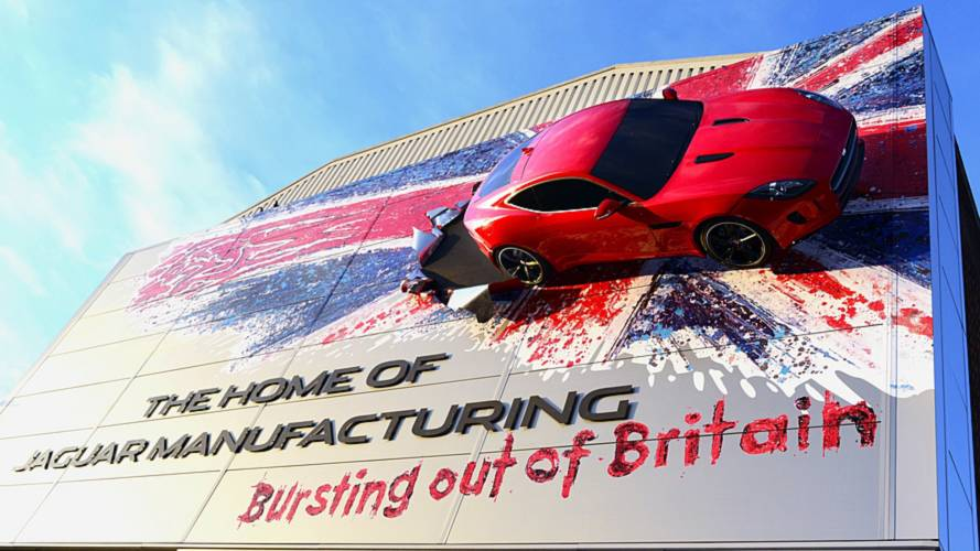 JLR UK manufacturing
