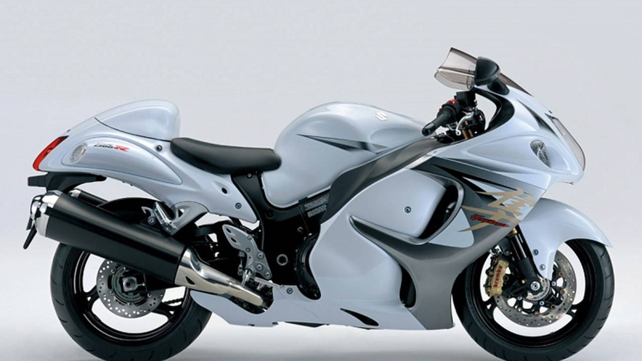 The Busa has changed very little over the years.