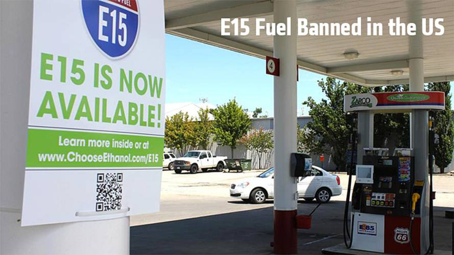 E15 Fuel Sale Banned in the US