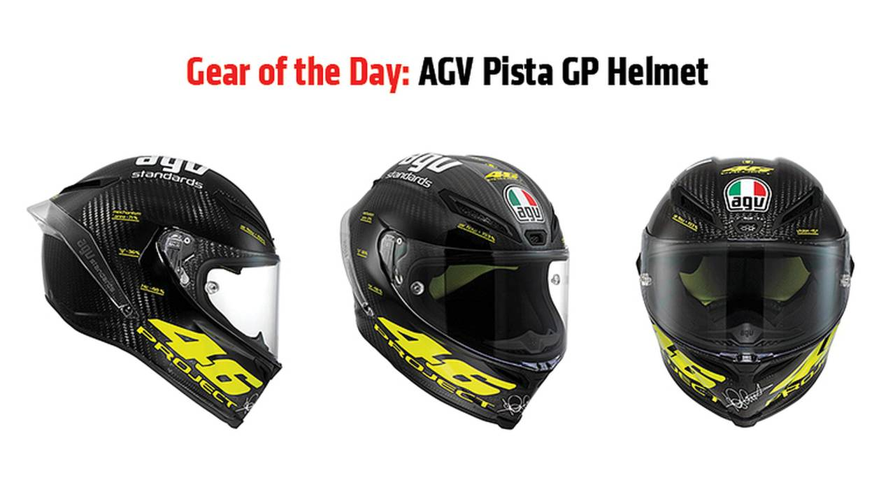 Gear of the Day: AGV Pista GP Helmet