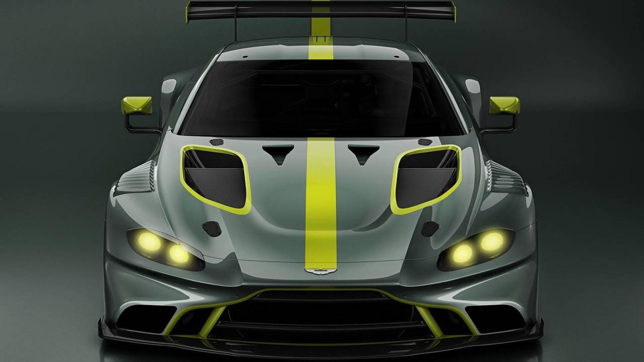 Aston Martin Racing Vantage GT3 race car