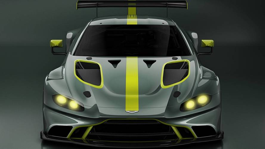 2019 Aston Martin Vantage GT3 Teased; GT4 Also Coming