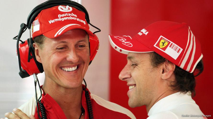 Zu Besuch bei Schumacher