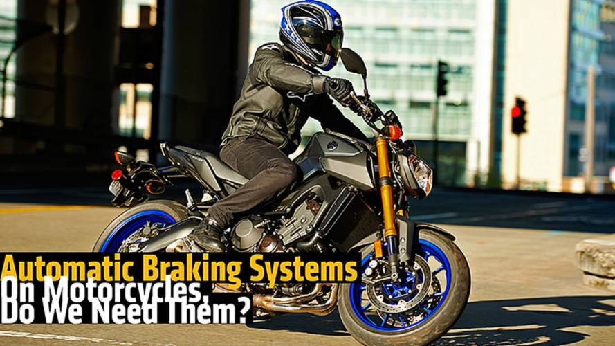 Automatic Braking Systems On Motorcycles, Do We Need Them?