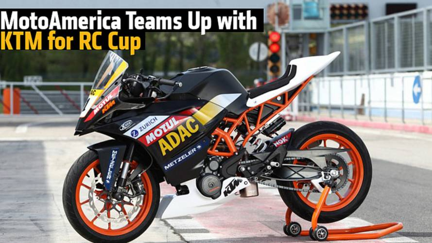 MotoAmerica Teams Up with KTM for RC Cup