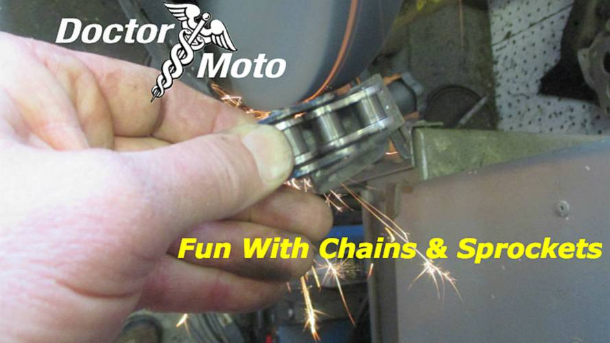 Fun With Chains And Sprockets - Dr. Moto