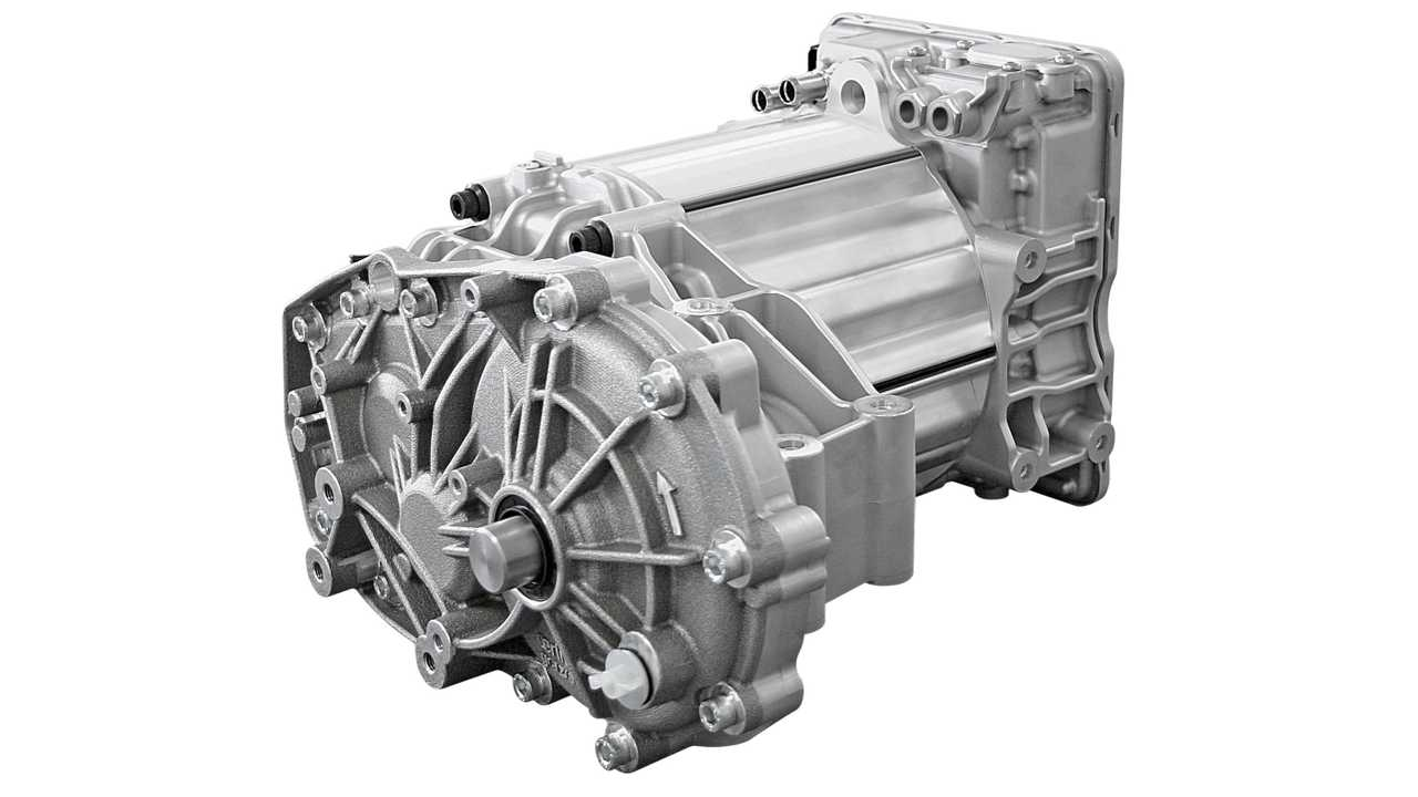 Continental's electric motor with integrated transmission and power electronics